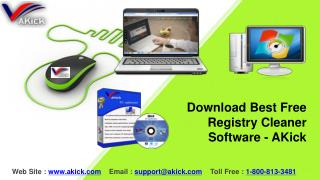 Download Best Free Registry Cleaner Software - AKick