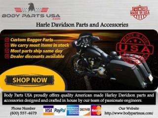 Harey Davidson Parts and Accessories