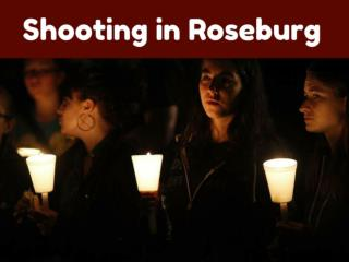 Shooting in Roseburg
