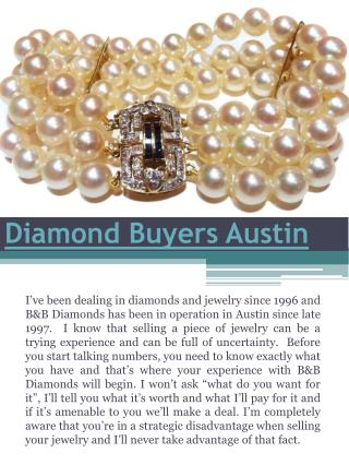 Diamond Buyers Austin