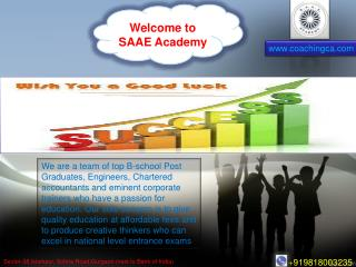 Coaching CA Best coaching Institute