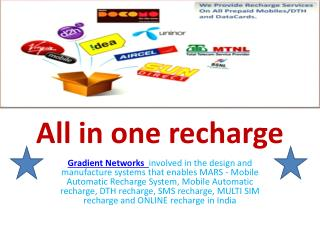 all in One Recharge in India