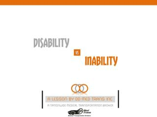 Disability-vs-Inability-By-NEMT,Scottsdale.