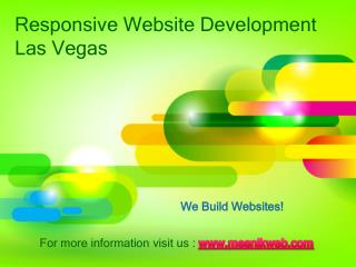 responsive website development las vegas