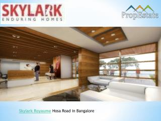 Skylark Royaume | 1/ 3 BHK Units Project