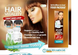 Hair Vitality Hair Loss Remedy