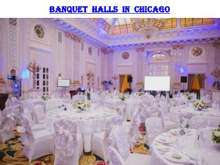 BANQUET HALLS IN CHICAGO