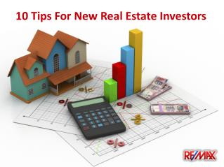 Top 10 Tips for New Real Estate Investors