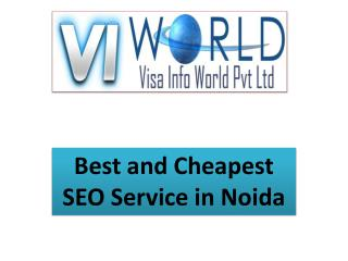 SEO services in lowest price in ncr india-visainfoworld.com