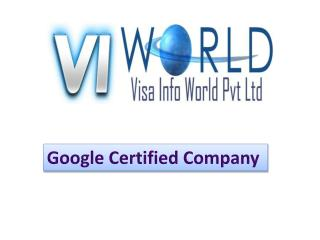 Website designing company in Noida India -visainfoworld.com