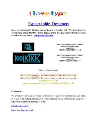 Typographic  Designers