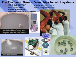 The Electronic Nose   From chips to robot systems