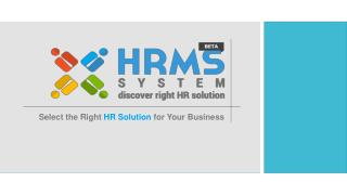 HRMS System software