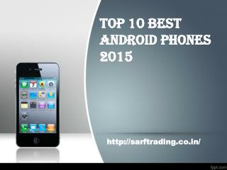 Top 10 android smartphones 2015