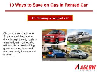 10 Ways to Save on Gas in Rented Car