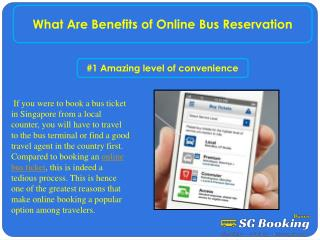 What Are Benefits of Online Bus Reservation