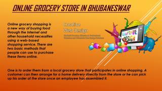 Open an Online grocery store Bhubaneswar