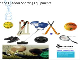 Buy Online Store for Sports Equipment in UK - Splay UK