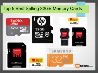 Top 5 Best Selling 32GB Memory Cards