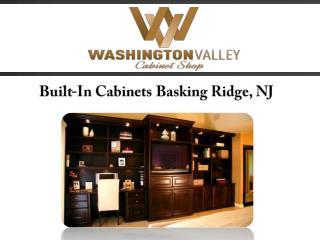 Built-In Cabinets Basking Ridge, NJ