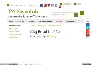 Silicone Loaf Pan Australia