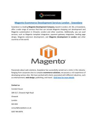 Magento-Ecommerce-Development-Services-London-Sowedane