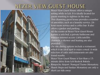 Nezer View Guest House