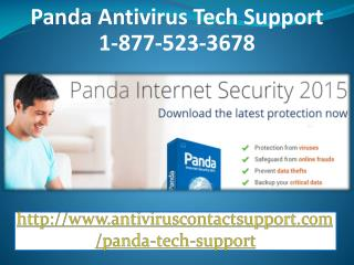 1-877-523-3678 Panda Not Scanning in Windows 10