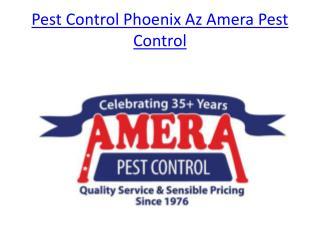 Pest Control Phoenix Az Amera Pest Control