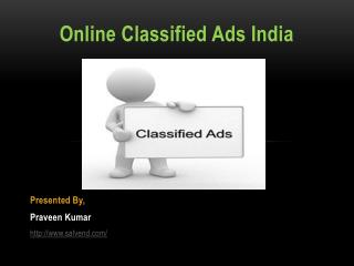 Online Classified Ads India