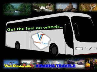 Visakha Travels � The Best Tour Operator in Orissa