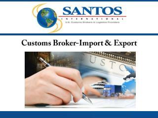 Customs Broker - Import & Export