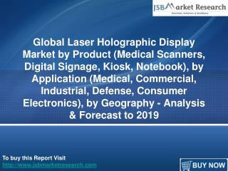 JSBMarketResearch: Global Laser Holographic Display Market