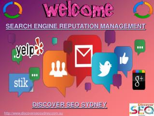 Search Engine Reputation Management | Discover SEO Sydney