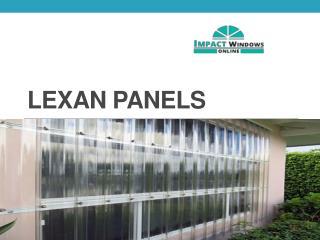 Lexan Panels
