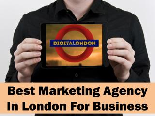 Best Marketing Agency In London For Business