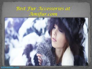 Best Fur Accessories at Amifur.com