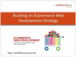 Building An Ecommerce Web Development Strategy
