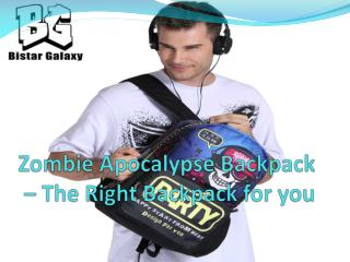 Zombie apocalypse backpack – The right backpack for you