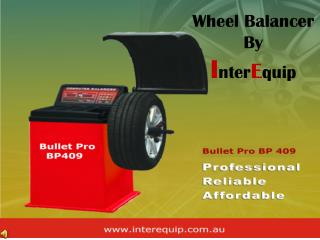 Bullet Pro Wheel Balancer By Interequip