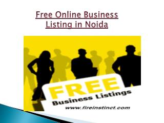 Free Online Business listing in Noida