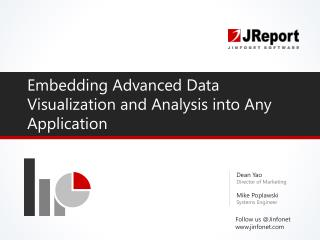 Embedded BI Advanced Data Visualization and Analysis into Any Application
