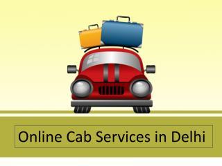 Online Cab Services in Delhi