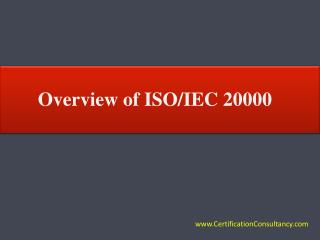 Overview of ISO 20000