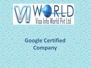Website designing company in Noida India -visainfoworld.com