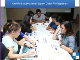 Certified International Supply Chain Professionals