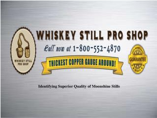 Designer Moonshine Stills For Sale