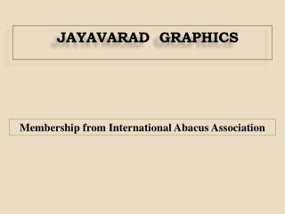 Membership from International Abacus Association