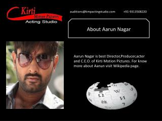Acting Classes in Delhi NCR
