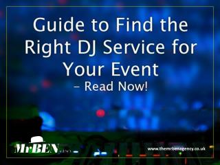 The Best DJ Agency in London – Guide to Choose!